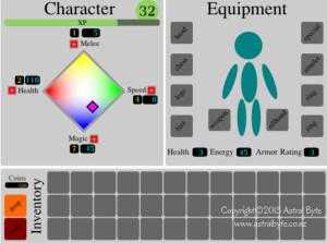UI prototype layout